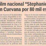 Nota sobre Stephanie en El Cronista