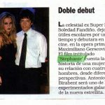 Stephanie - Nota en revista Noticias